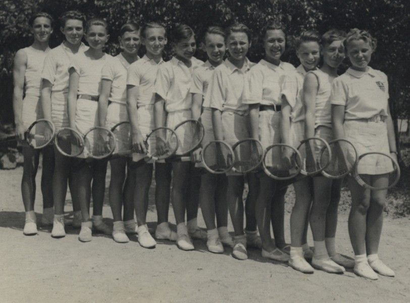 Klánovické tenisové mládí
